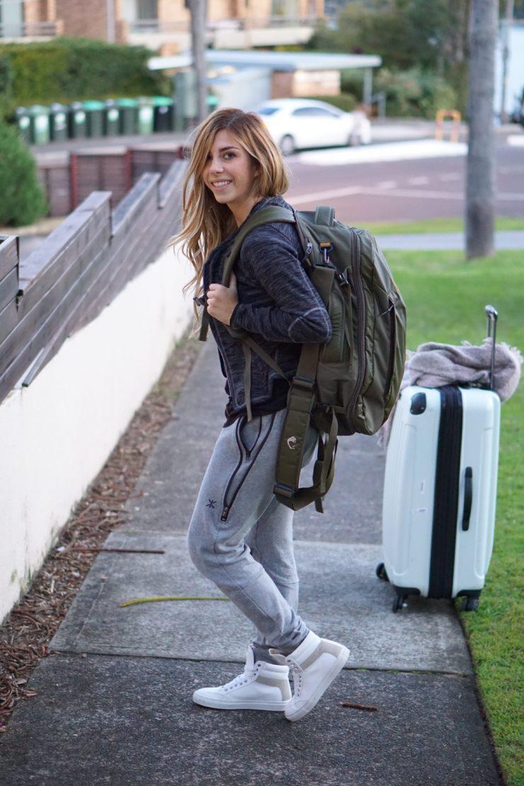 Reise Tipps: Das perfekte Outfit zum Fliegen + Tipps gegen