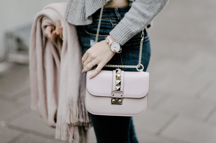 rose Valentino Bag