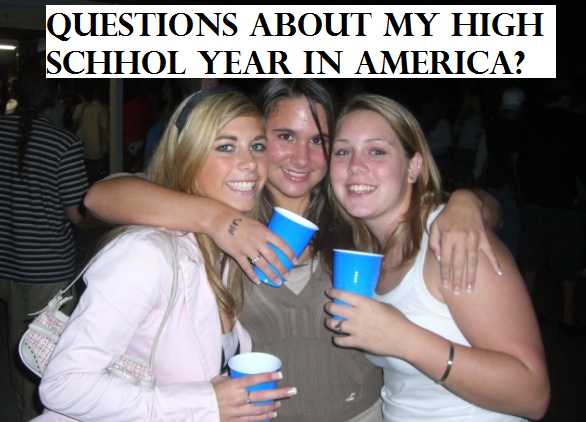 high school america, blue cups america