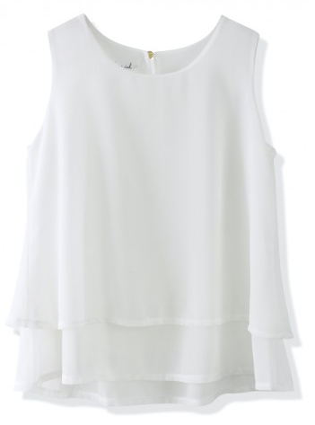 weißes cropped top chicwish locker