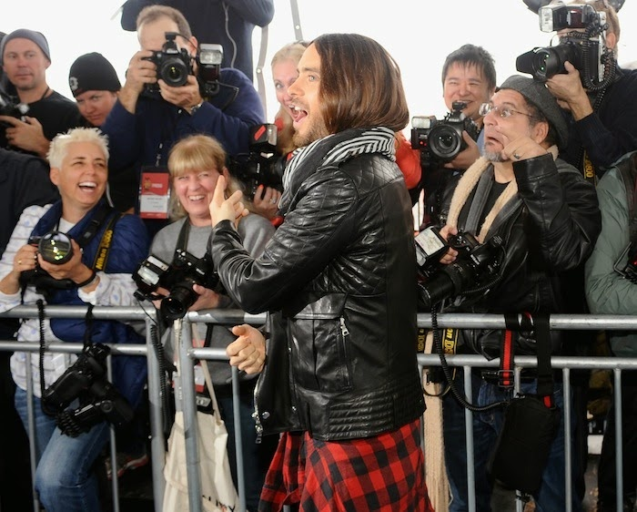 jared leto Independent Spirit Award Los Angeles