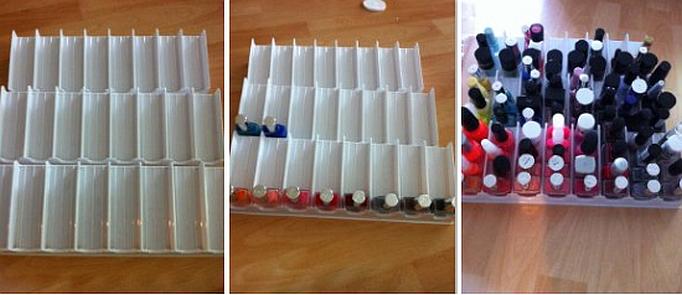 Nagellack aufbewahrung nagellack aufbewahrung setzk sten for Nagellack treppe