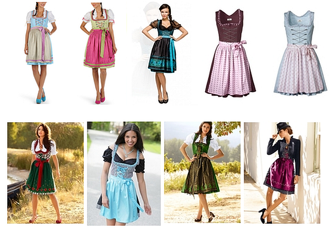 Oktoberfest is coming - Dirndl Shopping