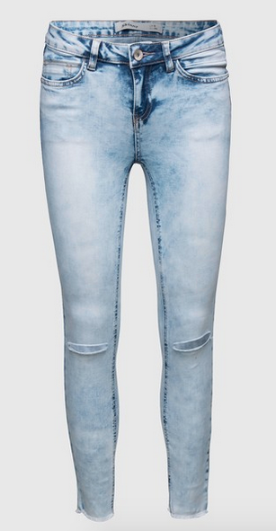 New Look Ripped Jeans zerissene helle Jeans Edited
