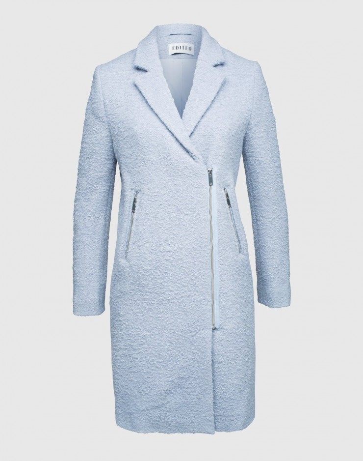 The Baby Blue Winter Coat