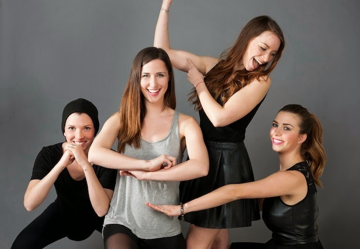strong ladies photo shoot